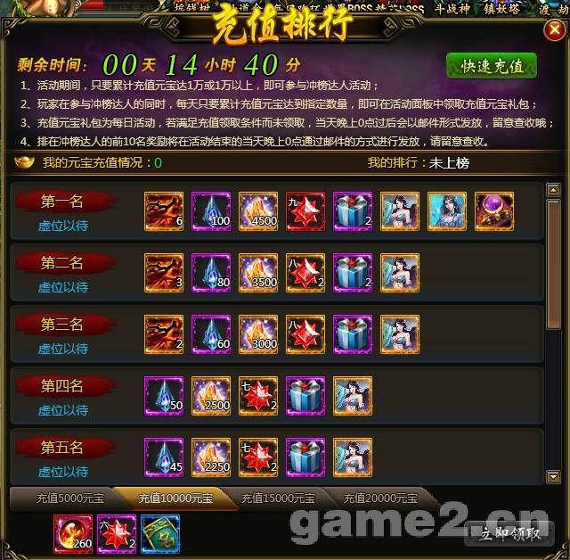 ...充值排行榜 龙破九天 哥们网论坛 中国最具影响力网页游戏平...